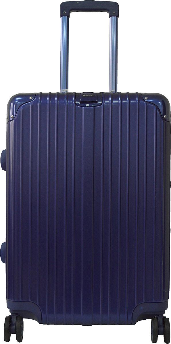 Чемодан Удачная покупка PC151, на колесах, цвет: синий, 42 л. УТ-00000093УТ-00000093Вес чемодана 3,9 кг (на бирке указан вес с упаковкой), в комплект входит чехол для безопасной транспортировки, чемодан по размерам подходит под ручную кладь.Чемодан оснащен кодовым замком с технологией TSA для таможенного досмотра (ключи для таких замков находятся у работников таможни, в комплекте к чемодану не идут, для использования не требуются).Чемодан из прочного, легкого и долговечного поликарбоната ABS+PC, изготовлен по трехслойной технологии.Ударопрочный и упругий каркас окантован усиленной алюминиевой рамкой.Влагонепроницаемый современный чемодан обладает впечатляющим дизайном.Специальная технология матовой окраски гарантирует защиту от царапин.Долговечные бесшумные колеса из высокопрочной резины с поворотным механизмом на 360° обеспечат легкость перемещения багажа.Надежная выдвижная ручка из усиленного алюминиевого сплава выдерживает нагрузку до 50 кг.Технологичный сплав ручки не ржавеет и надолго сохраняет безупречный внешний вид.Регулируемая высота ручки удобна для людей различного роста.Практичная внутренняя система хранения с двумя сетчатыми экранами обеспечивает быстрый доступ к необходимым вещам.