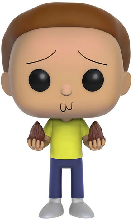 Funko POP! Vinyl Фигурка Rick & Morty: Morty [quanpapa] new genuine funko pop adventure time cake 55 model action figurine doll car decoration kids toys
