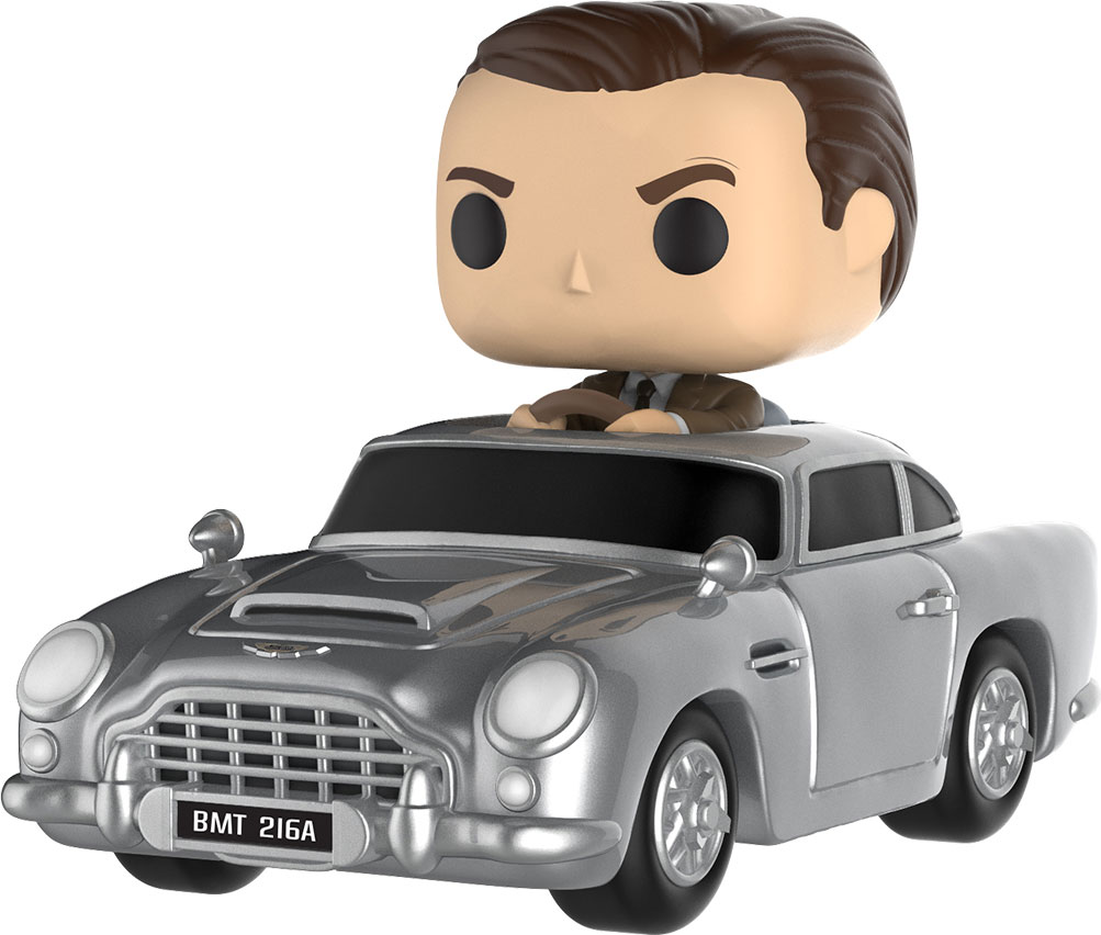 Funko POP! Фигурка James Bond with Aston Martin DB5 цена