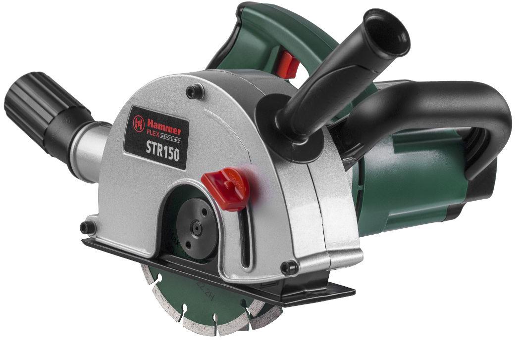 Штроборез Hammer Flex STR150, 1700 Вт профессиональный штроборез hammer str115 premium