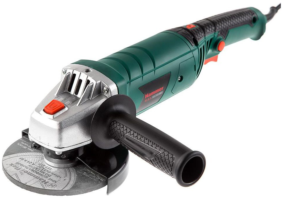 Шлифмашина угловая Hammer Flex USM1200E, 1200 Вт