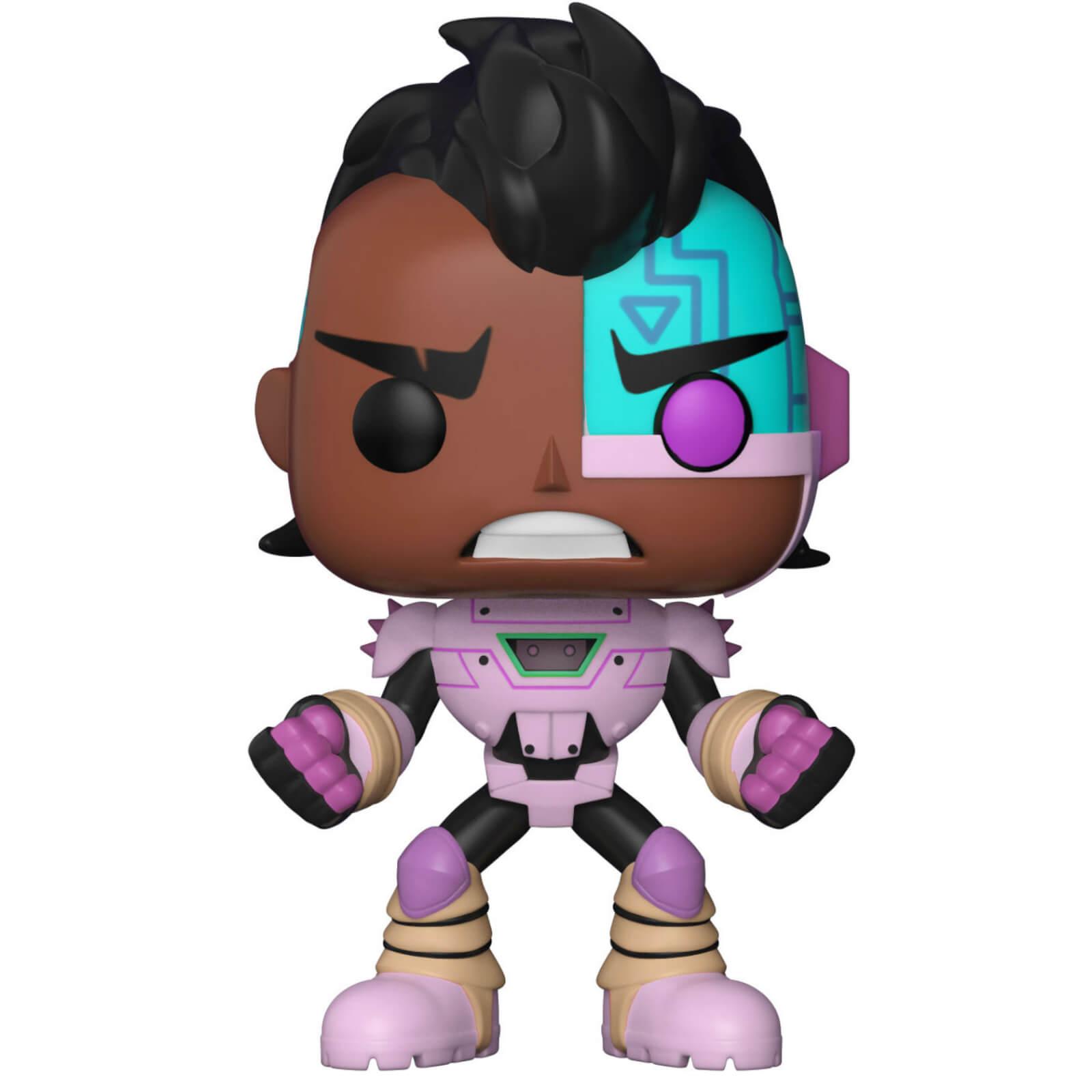 Funko POP! Vinyl Фигурка Teen Titans Go: the Night Begins To Shine: Cyborg new teen titans games