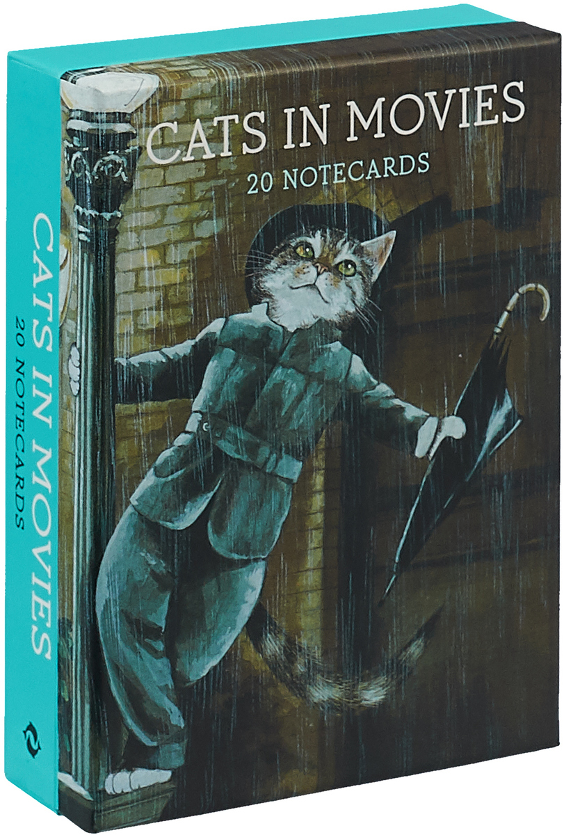 Cats in Movies: Notecards masha and friends notecards