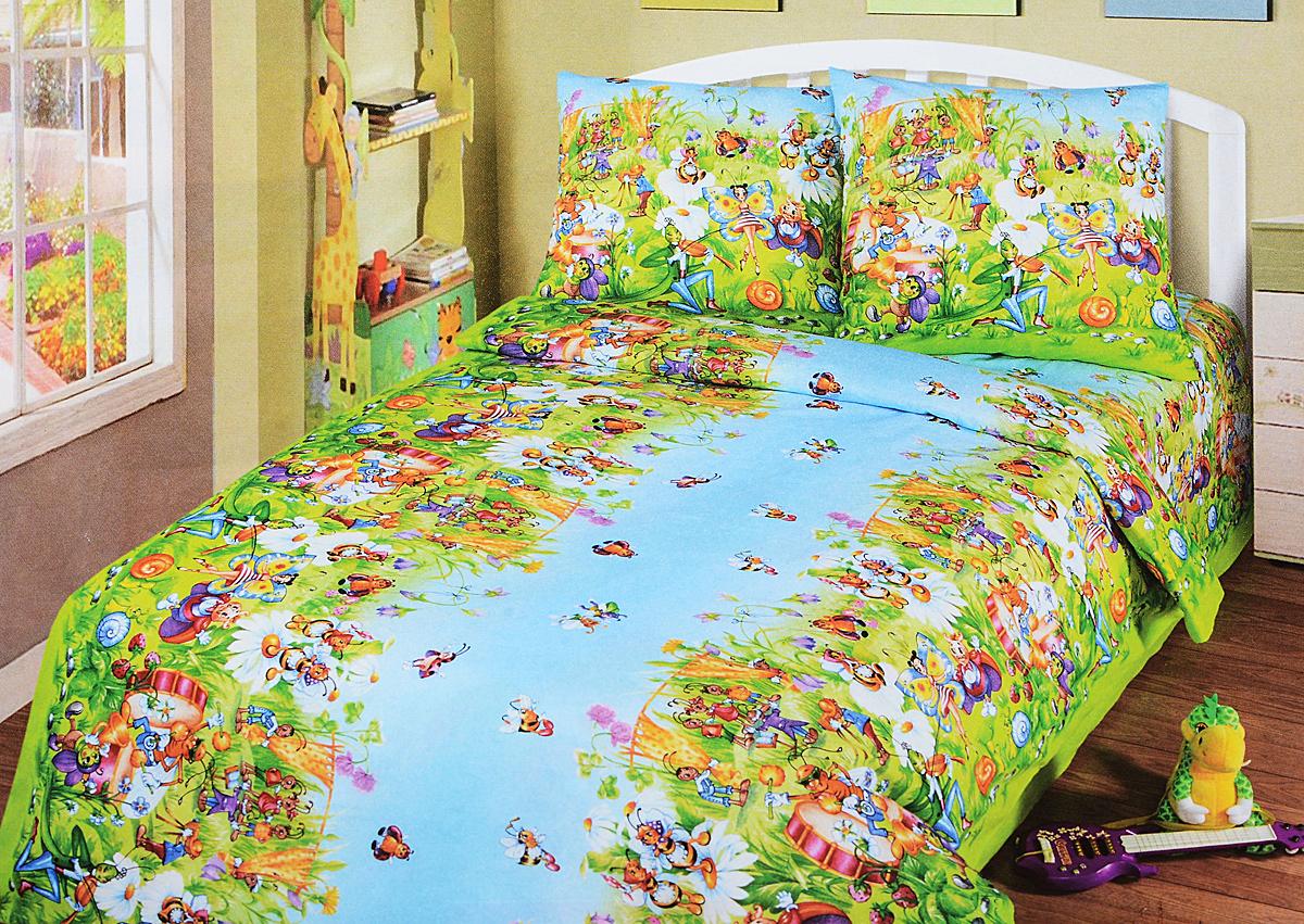 Комплект белья детский АртПостель  Маленькая страна , 1,5-спальный, наволочки 70x70. 100 - Детская комната