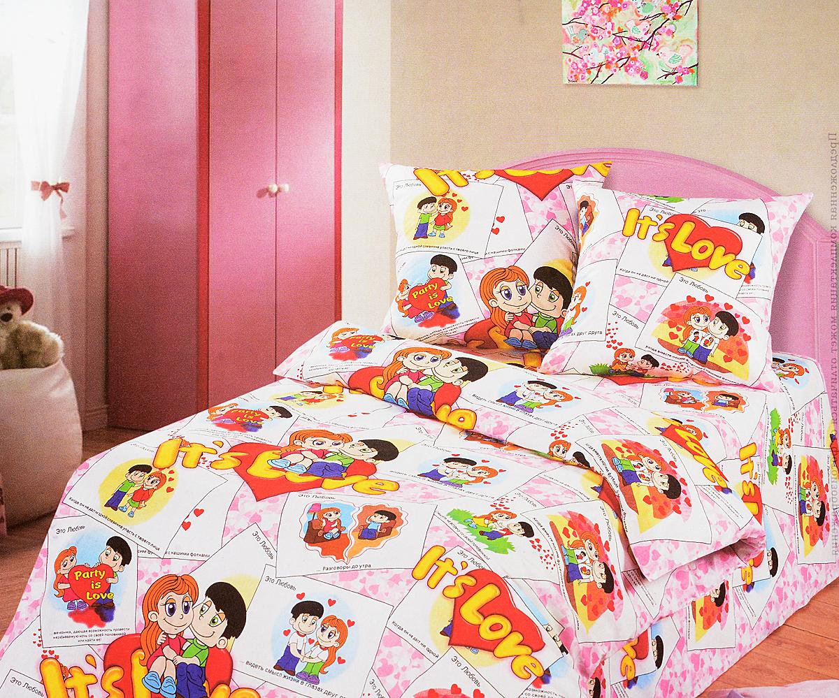 Комплект белья детский АртПостель  Очаровашки , 1,5-спальный, наволочки 70x70. 100 - Детская комната