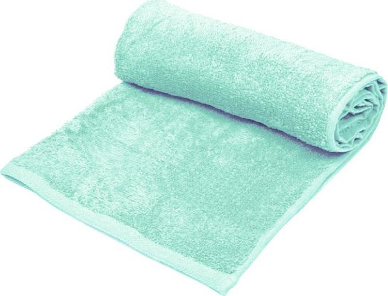 Полотенце банное Павлина, цвет: бирюзовый, 130 х 70 см полотенце банное pupilla lamond dray 70 140 см
