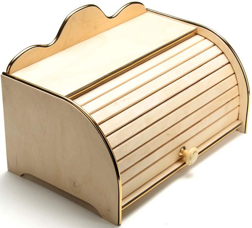 Хлебница деревянная Mayer & Boch, 35 х 18 см. 23211-10123211-101Хлебница Mayer & Boch, выполненная в классическом дизайне из дерева, позволит сохранитьваш хлеб свежим и вкусным. Крышка оснащена дверцей в виде шторки-жалюзи плавнооткрывается и является герметичной. Эксклюзивный дизайн, эстетика и функциональностьхлебницы делают ее превосходным аксессуаром на вашей кухне.