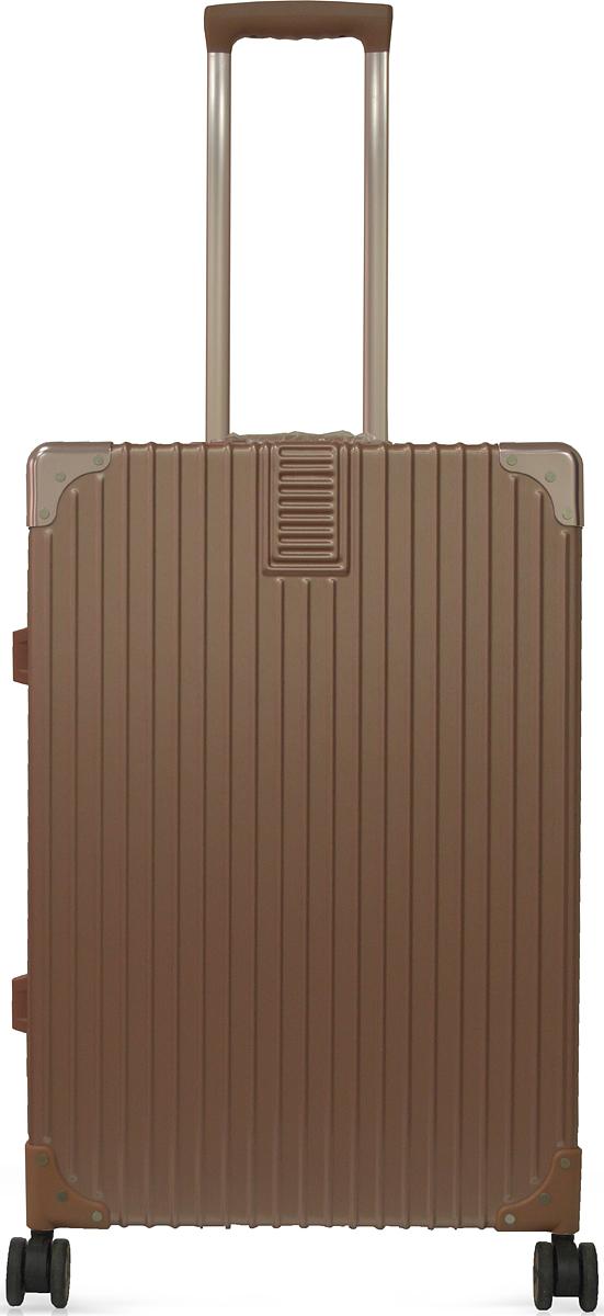 Чемодан Удачная покупка DL068, на колесах, цвет: розовый, 44 л. УТ-00000103УТ-00000103Вес чемодана 4 кг (на бирке указан вес с упаковкой), в комплект входит чехол для безопасной транспортировки, чемодан по размерам подходит под ручную кладь.Чемодан оснащен кодовым замком с технологией TSA для таможенного досмотра (ключи для таких замков находятся у работников таможни, в комплекте к чемодану не идут, для использования не требуются).Чемодан из прочного, легкого и долговечного поликарбоната ABS+PC, изготовлен по трехслойной технологии.Ударопрочный и упругий каркас окантован усиленной алюминиевой рамкой.Влагонепроницаемый современный чемодан обладает впечатляющим дизайном.Специальная технология матовой окраски гарантирует защиту от царапин.Долговечные бесшумные колеса из высокопрочной резины с поворотным механизмом на 360° обеспечат легкость перемещения багажа.Надежная выдвижная ручка из усиленного алюминиевого сплава выдерживает нагрузку до 50 кг.Технологичный сплав ручки не ржавеет и надолго сохраняет безупречный внешний вид.Регулируемая высота ручки удобна для людей различного роста.Практичная внутренняя система хранения с двумя сетчатыми экранами обеспечивает быстрый доступ к необходимым вещам.