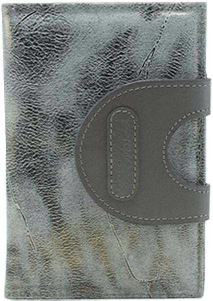 Обложка для паспорта женская Paolo Veronese, цвет: серый. PV-NK035-OP0757-000Натуральная кожаОбложка для паспорта Paolo Veronese из натуральной кожи. Внутри карманы из пластика. Размеры (XxYxZ): 97х138х4