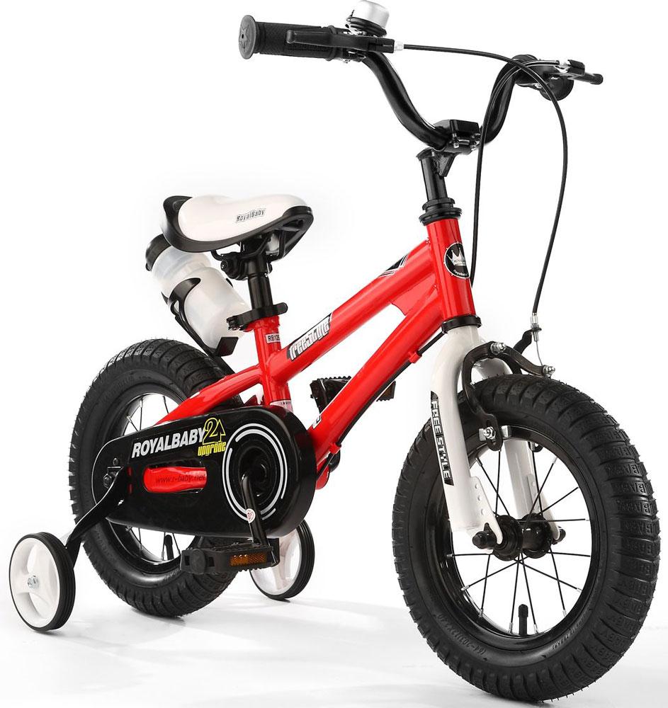 Велосипед детский Royal Baby Freestyle 14, цвет: красный велосипед royal baby buttons alloy 14 2018