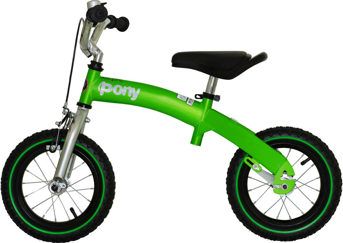 Детский велосипед с приставными колесами. Стальная рама, надувные колеса, комплект задних приставных колес, ручной тормоз, звонок, регулируемое по высоте седло, регулируемый по высоте руль. В комплекте с велосипедом идет насос, набор ключей и крылья. Цвет: голубой, фиолетовый. Подходит для роста 95-110 см. Профиль обода - одностенный. Вид ниппеля: автомобильный (AV, Shrader, Шредер,). Тип тормозной системы: ручной ободной тормоз. Жесткая вилка