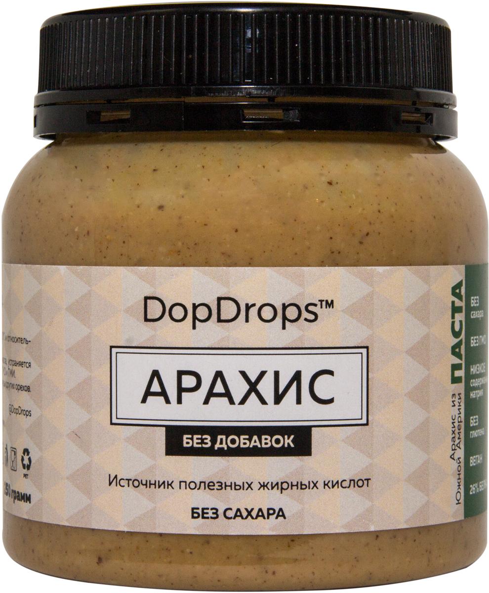 "Паста DopDrops ""Арахис"", без добавок, 250 г"