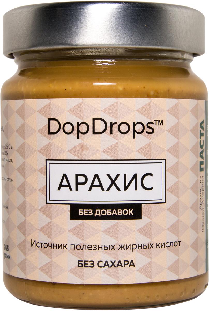 "Паста DopDrops ""Арахис"", без добавок, 265 г"