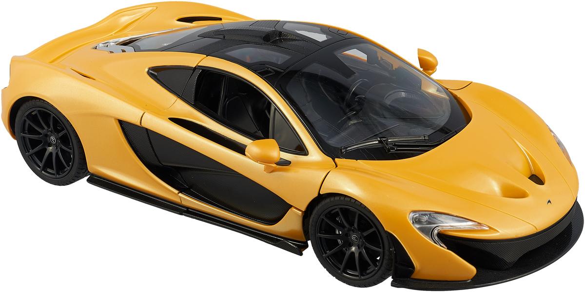 Rastar Радиоуправляемая модель McLaren P1 масштаб 1:14 цвет желтый rastar радиоуправляемая модель porsche cayenne turbo цвет белый масштаб 1 14