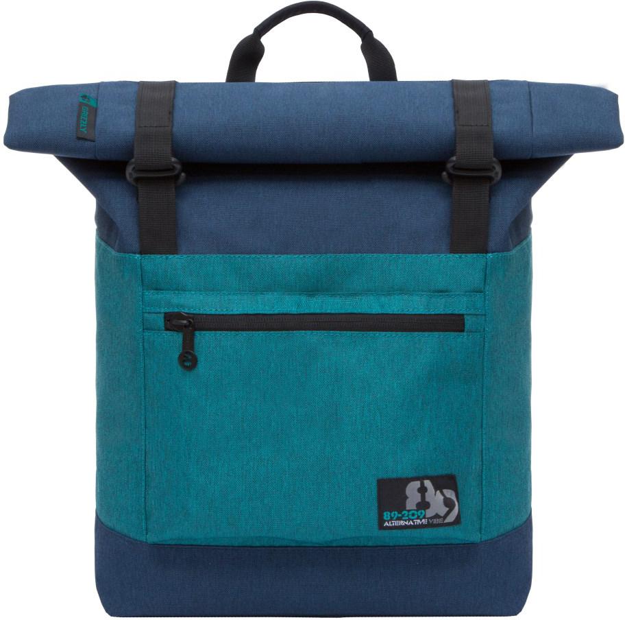 Рюкзак городской Grizzly, цвет: синий, бирюзовый. RU-814-1/3RU-814-1/3Рюкзак молодежный, вставка-трансформер для увеличения объема рюкзака, одно отделение, клапан на застежках, карман на передней стенке, объемный карман на молнии на передней стенке, внутренний карман на молнии, укрепленная спинка, карман на молнии на задней стенке, дополнительная ручка-петля, мягкие лямки, быстрый доступ к основному отделению сбоку.