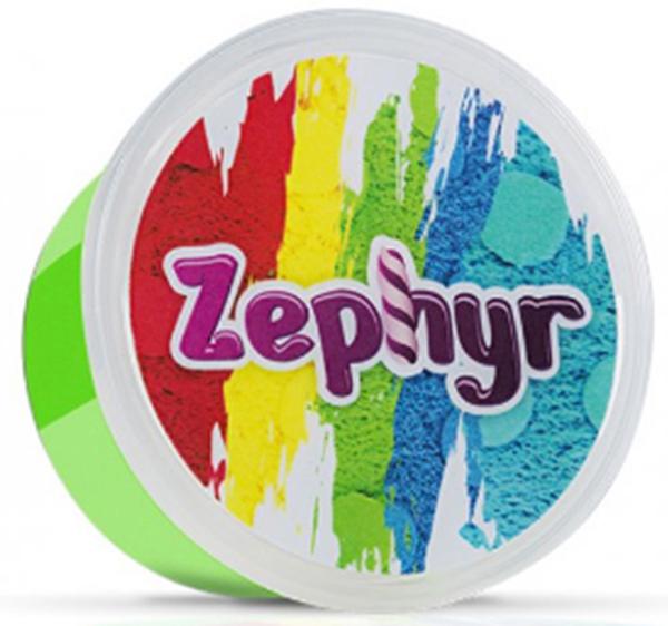 Zephyr Кинетический пластилин цвет зеленый00-00000741Первый в мире кинетический пластилин Zephyr, с которым можно играть, как с кинетическим песком, лепить, как из мягкого пластилина, растягивать, как жвачку для рук. Но самоле главное, фигуры из кинетического пластилина можно запечь и разукрасить