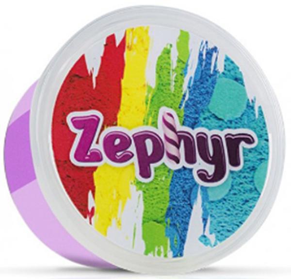 Zephyr Кинетический пластилин цвет фиолетовый -  Пластилин
