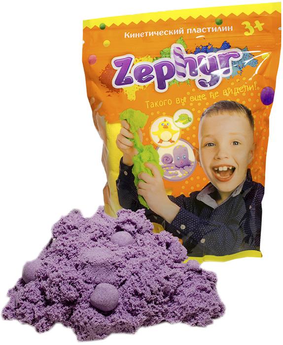 Zephyr Кинетический пластилин цвет фиолетовый00-00000808Первый в мире кинетический пластилин Zephyr, с которым можно играть, как с кинетическим песком, лепить, как из мягкого пластилина, растягивать, как жвачку для рук. Но самоле главное, фигуры из кинетического пластилина можно запечь и разукрасить