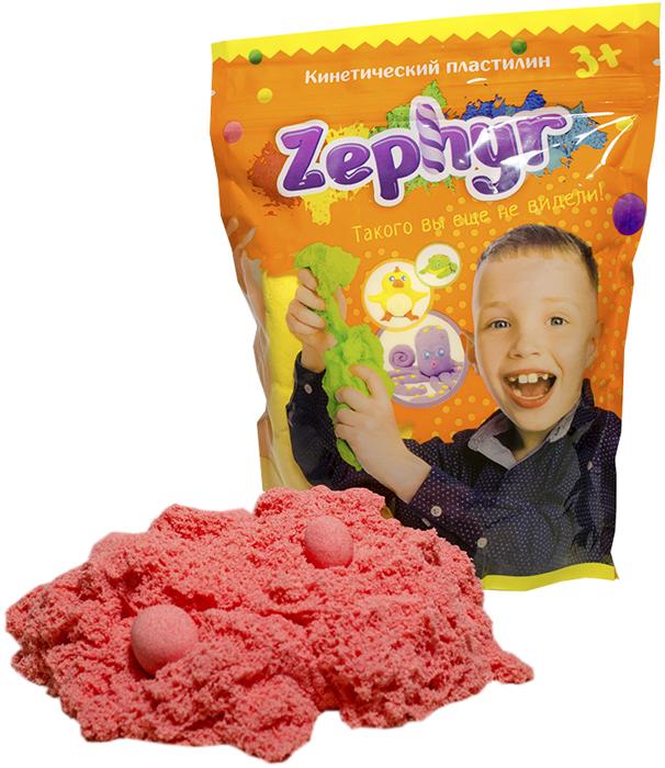 Zephyr Кинетический пластилин цвет розовый -  Пластилин