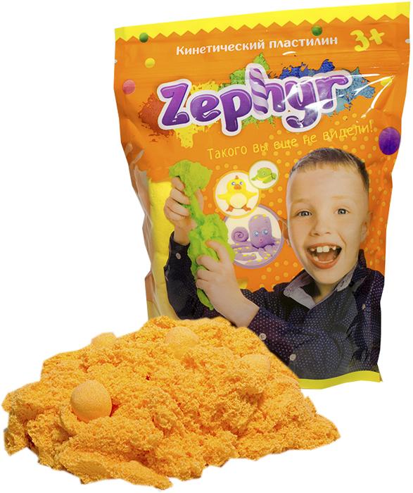 Zephyr Кинетический пластилин цвет оранжевый -  Пластилин