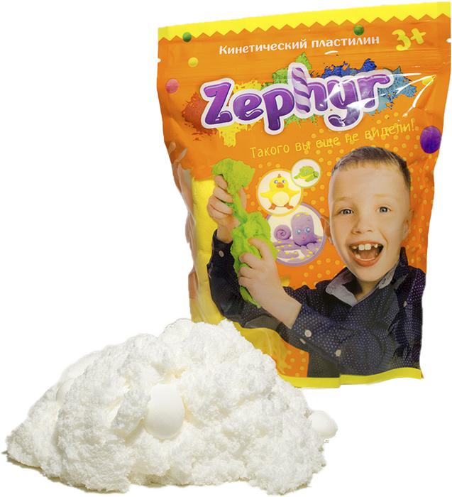 Zephyr Кинетический пластилин цвет белый00-00000814Первый в мире кинетический пластилин Zephyr, с которым можно играть, как с кинетическим песком, лепить, как из мягкого пластилина, растягивать, как жвачку для рук. Но самоле главное, фигуры из кинетического пластилина можно запечь и разукрасить