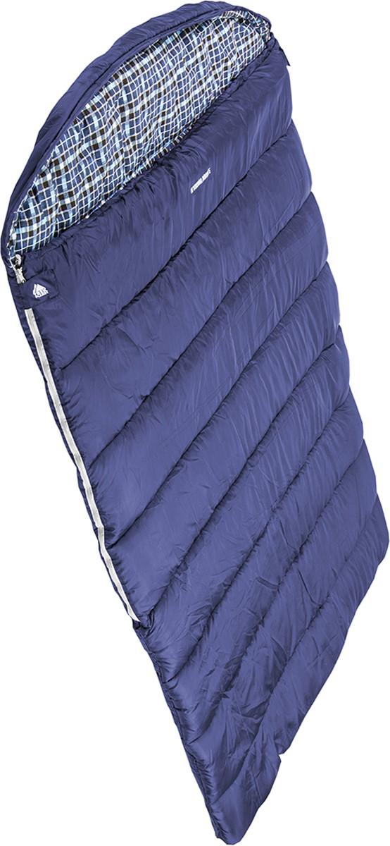 """Очень комфортный, легкий и уютный двухместный спальник-одеяло с  капюшоном TREK PLANET """"Glasgow Double"""". Идеально подойдет для тех, кто  путешествует парой! Отличительная особенность этого спальника: он  чрезвычайно приятен в использовании, во многом, за счет мягкой внутренней  фланели. Большой и уютный капюшон обеспечивает повышенный комфорт и  тепло в холодную погоду. Спальник предназначен для походов  преимущественно в летний период.  Особенности: - двойная ширина спальника, - теплый глубокий капюшон с затягивающейся шнуровкой по периметру, - внутренний материал: мягкая фланель, - дополнительная плечевая затягивающаяся шнуровка, - терм клапан вдоль молнии, - две двухсторонние молнии по бокам, - внутренний карман, - небольшой вес, - к спальнику прилагается чехол для удобного хранения и переноски.  Характеристики: Внешний материал: 100% полиэстер. Внутренний материал: 100% фланель. Утеплитель: Hollow Fiber 1x300 г/м2. Размер: (200+30) х 150 см. Размер в чехле: 25 х 50 х 40 см. Вес: 2,6 кг."""