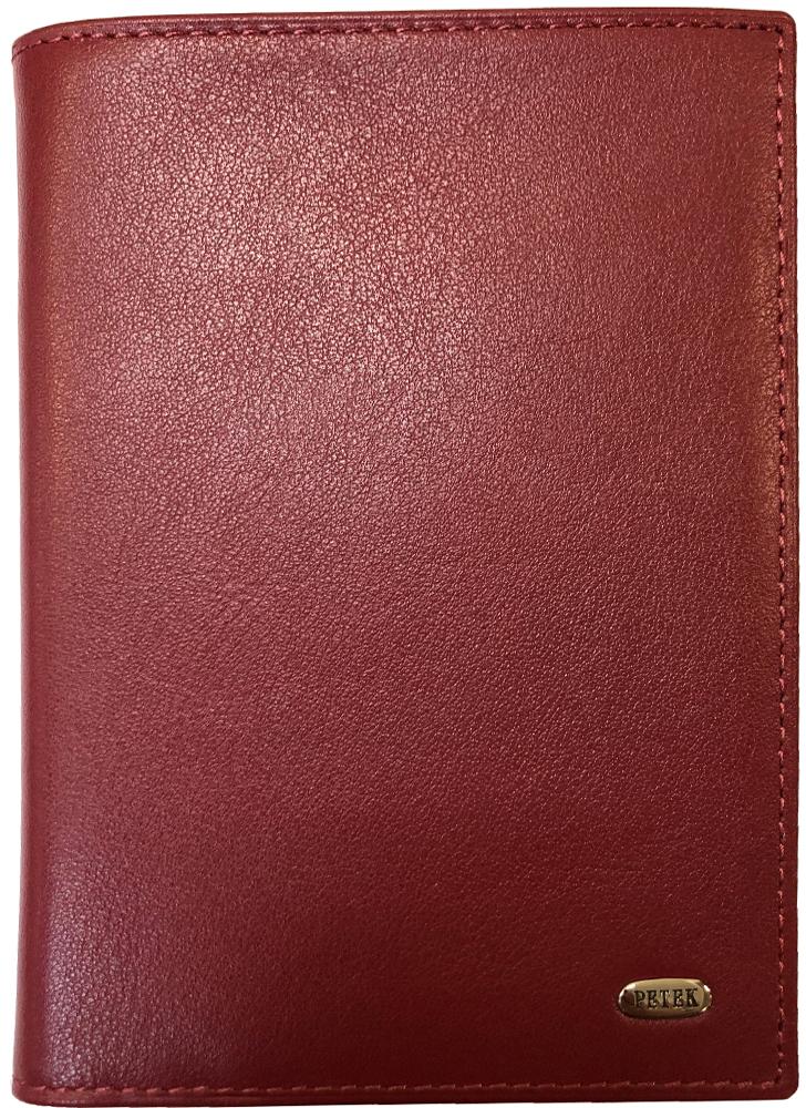 Обложка на паспорт Petek 652.4000.10 Red браслеты petek браслет