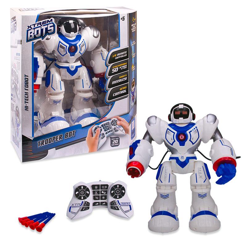 Xtrem BotsРобот на радиоуправлении Штурмовик Xtrem Bots