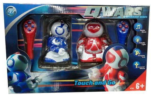 Junfa Toys Игровой набор на радиоуправлении Сражение роботов