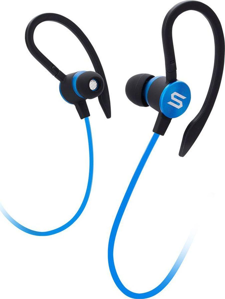 Soul Flex 2, Blue наушники15119782Спортивные наушники.Отличительное качество звучания Soul для Ваших тренировокСменные насадки3 способа ношения для различных тренировок Влагоустойчивый дизайн, IPX2 / IPX4 влагозащитаЛегкие и портативныеМикрофон и пульт управления совместимые со смартфонами