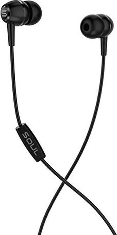 Soul LIT, Black наушники15119789Отличительное звучание SoulСовременные драйверы Soul для глубоких басов и чистых средних и высоких частотКомпактная, легкая и стильная модель Универсальный пульт управления с одной кнопкой Цвета: черный, белый, синий, красный