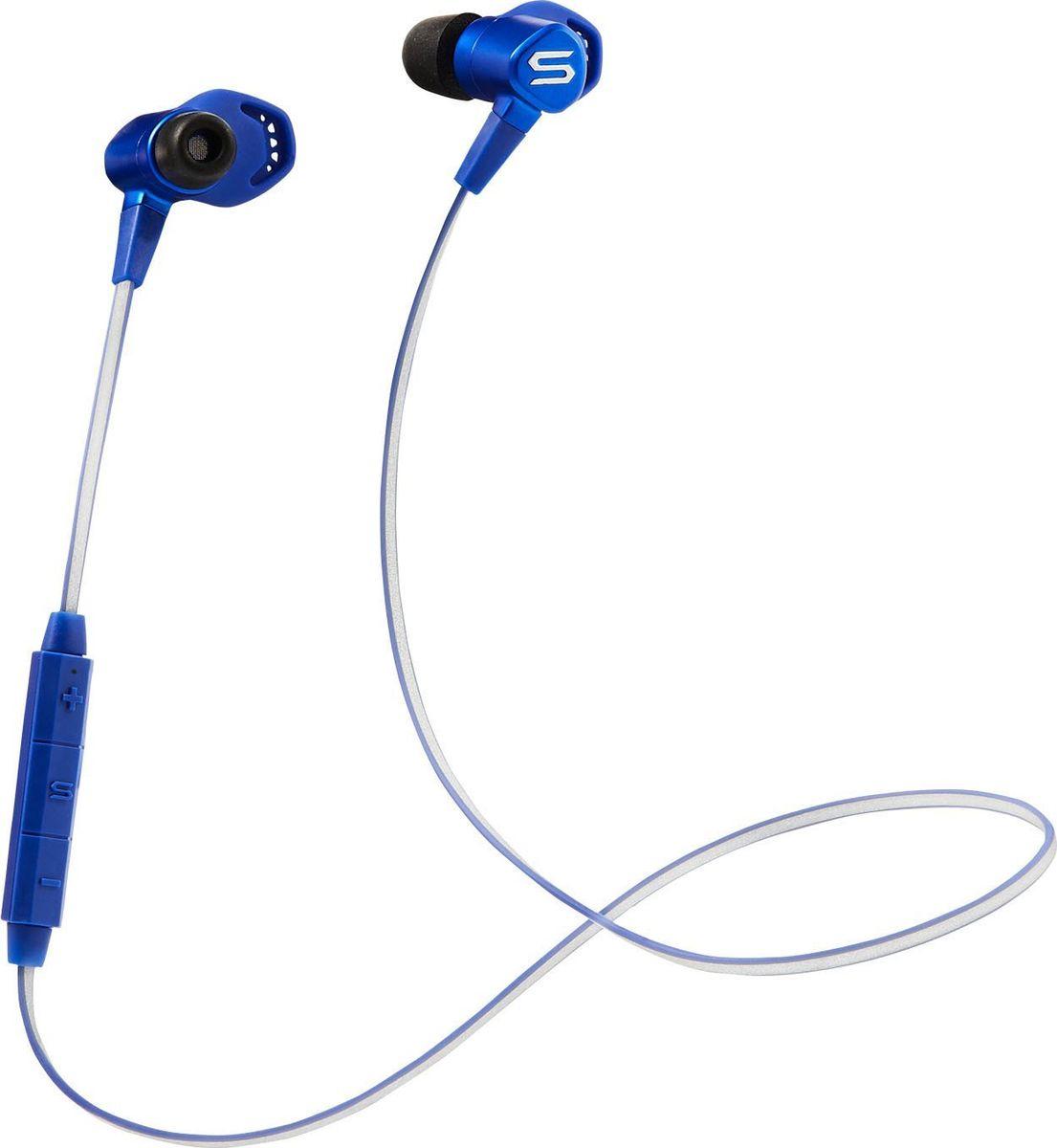 Soul RunFreePro HD, Blue наушники15119788Балансные арматурные спортивные наушникиBluetooth 4.0 с aptX для наилучшего возможного звуковоспроизведения и снижения помех от ветра для высокого качества звонковБалансные арматурные драйверы от Knowles для превосходного качества звукаСменные насадки для непревзойденного комфорта и надежной посадкиЗащита от непогоды благодаря нано-покрытию также обеспечивает защиту от пота и влаги, IPX5 влагозащитаДо 12ч беспроводного воспроизведения и звонковСветоотражающий кабель