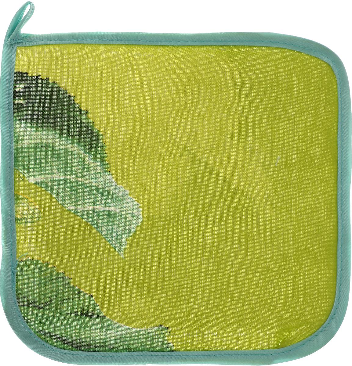 """Прихватка """"Roko"""" - незаменимый помощник на любой кухне.  Изделие выполнено из 100% хлопка и оформлено  красочным принтом. Прихватка мягкая, удобная и практичная.  Она защитит ваши руки и предотвратит появление ожогов.  Оригинальный дизайн позволит красиво дополнить интерьер  кухни. С помощью текстильной петельки прихватку можно  подвесить на крючок.Уважаемые клиенты!  Обращаем ваше внимание на возможные изменения в дизайне товара - расцветка и рисунок могут отличаться  от изображения, представленного на сайте. Поставка осуществляется в зависимости от наличия на складе."""