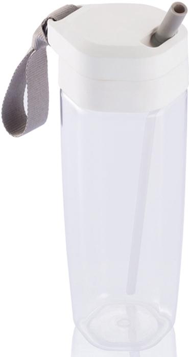 Спортивная бутылка для воды Turner объемом 650 мл позволит вам пить во время езды на велосипеде, бега и даже полета. Одним простым движением открывается трубочка и также просто убирается обратно в корпус. А самое главное - вам не нужно наклонять бутылку и запрокидывать голову, чтобы попить. Изготовлена из современного экологичного материала Tritan®, который отличается своей долговечностью и не впитывает запахи.  XD Design Turner – это легкая и компактная бутылка для воды объемом 650 мл, которая придется по вкусу всем спортсменам, и в особенности велосипедистам и бегунам. Удобство Turner состоит в том, что во время использования её не нужно наклонять, а голову не надо запрокидывать: в крышку встроена трубочка, которую легко извлечь, чтобы утолить жажду, и затем также легко убрать обратно. Кроме того, Turner изготовлена из экологичного материала Tritan, который отличается высокой ударопрочностью и не впитывает запахи. Для дополнительного комфорта при использовании Turner оснащена тканевым ремешком.  Turner напоминает формой высокий узкий стакан, закрытый герметичной крышкой. Дизайн бутылки прямо намекает на её экологичность: на прозрачных стенках нет ни наклеек, ни надписей, ни рисунков. Крышка выполнена из полипропилена и дополнена трубочкой.  Бутылка изготовлена из материала Tritan, который на 100% поддается вторичной переработке. Этот материал намного прочнее и долговечнее стекла или пластика, он не впитывает запахи, устойчив к появлению царапин и потертостей, а также выдерживает температуры от -10°C до +96°.  Бутылка Turner удобна в эксплуатации. Для того, чтобы налить в нее напиток, достаточно открутить крышку. Чтобы утолить жажду, крышку снимать не надо: в её верхнюю часть встроена соломинка, доступ к которой открывается с помощью шнурка. Такая конструкция позволяет не наклонять бутылку и не запрокидывать голову во время питья. Объем Turner составляет 650 мл, что оптимально для пробежки или прогулки как пешком, так и на велосипеде.  •Материал: Tritan •Объем: 650