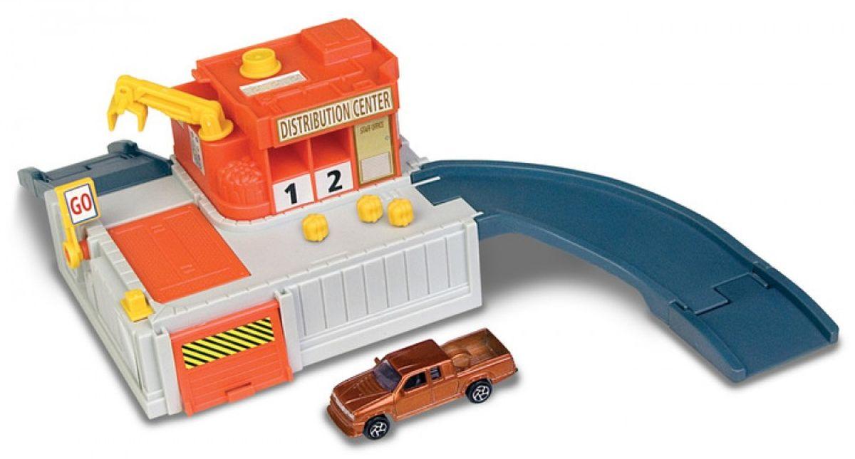 Autogrand Игровой набор Megapolis Терминал с машинкой игровой набор dave toy аэропорт с 1 машинкой