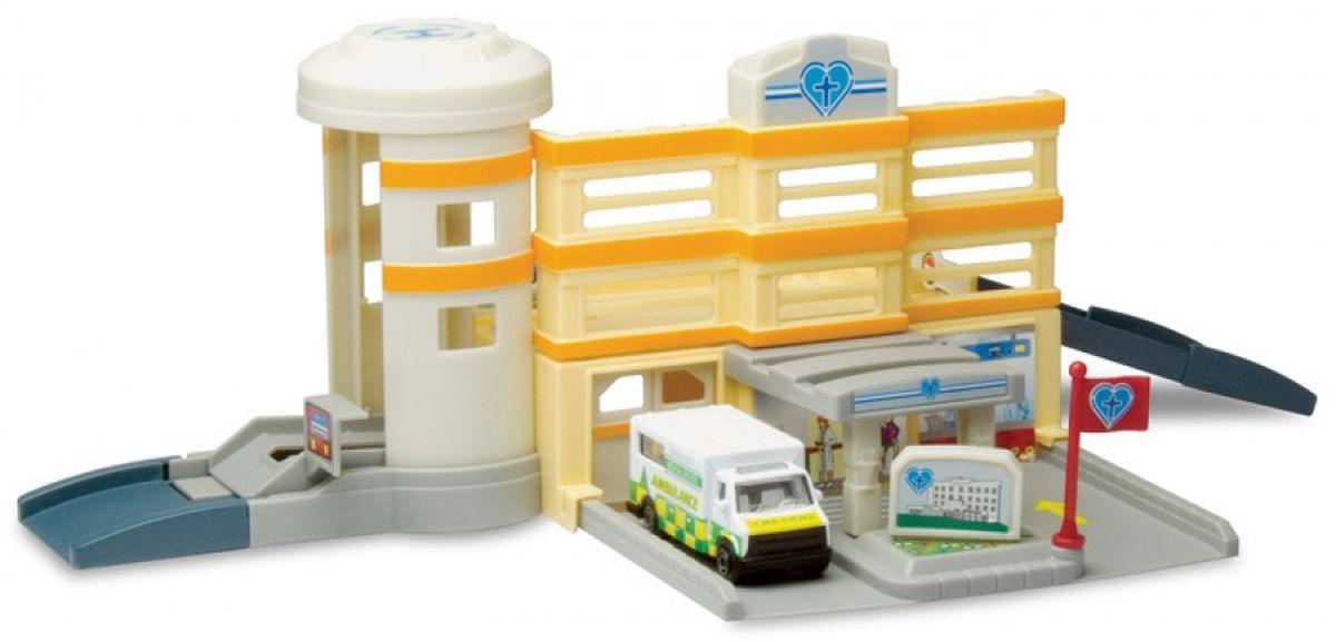 Autogrand Игровой набор Megapolis Больница с машинкой спортивные игровые наборы hudora спортивный игровой набор