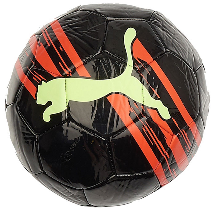 Мяч тренировочный Puma KA Big Cat Ball, цвет: черный игрушка gigwi jumball big ball is a good ball мяч с захватом для собак 75367