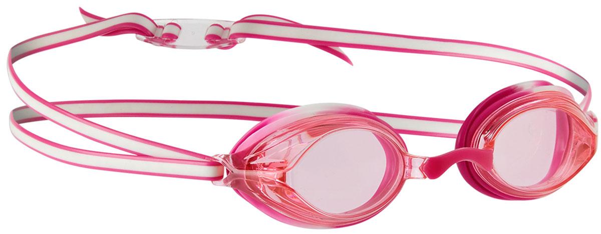 Очки для плавания детские Speedo Vengeance Gog Ju, цвет: белый, розовый speedo очки для плавания детские speedo jet