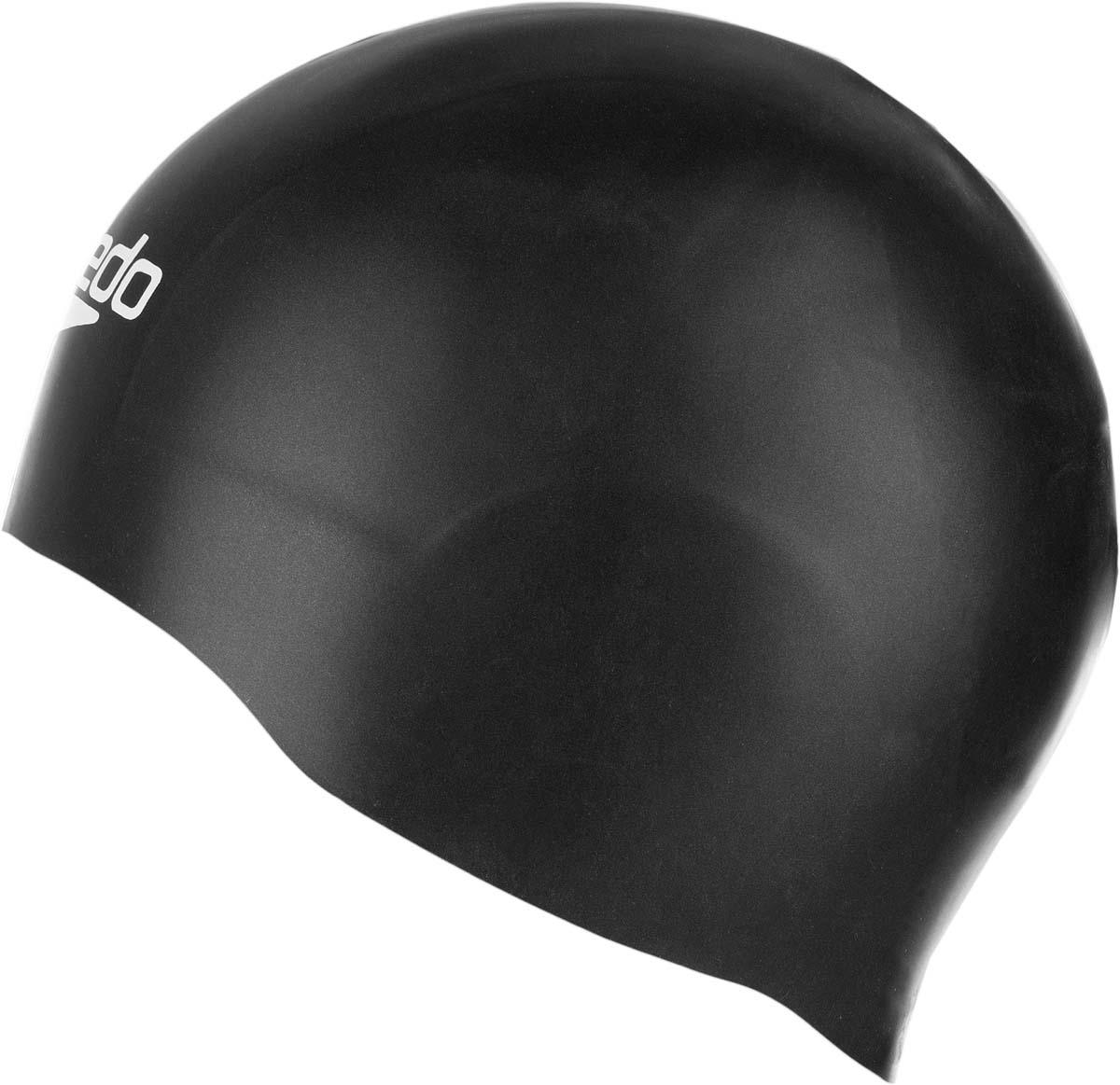 Шапочка для плавания Speedo, цвет: черный. 8-0877500018-087750001Уникальная силиконовая шапочка для соревнований с зонами разной толщины. Снижает сопротивление на 5% по сравнению с обычной шапочкой из латекса.
