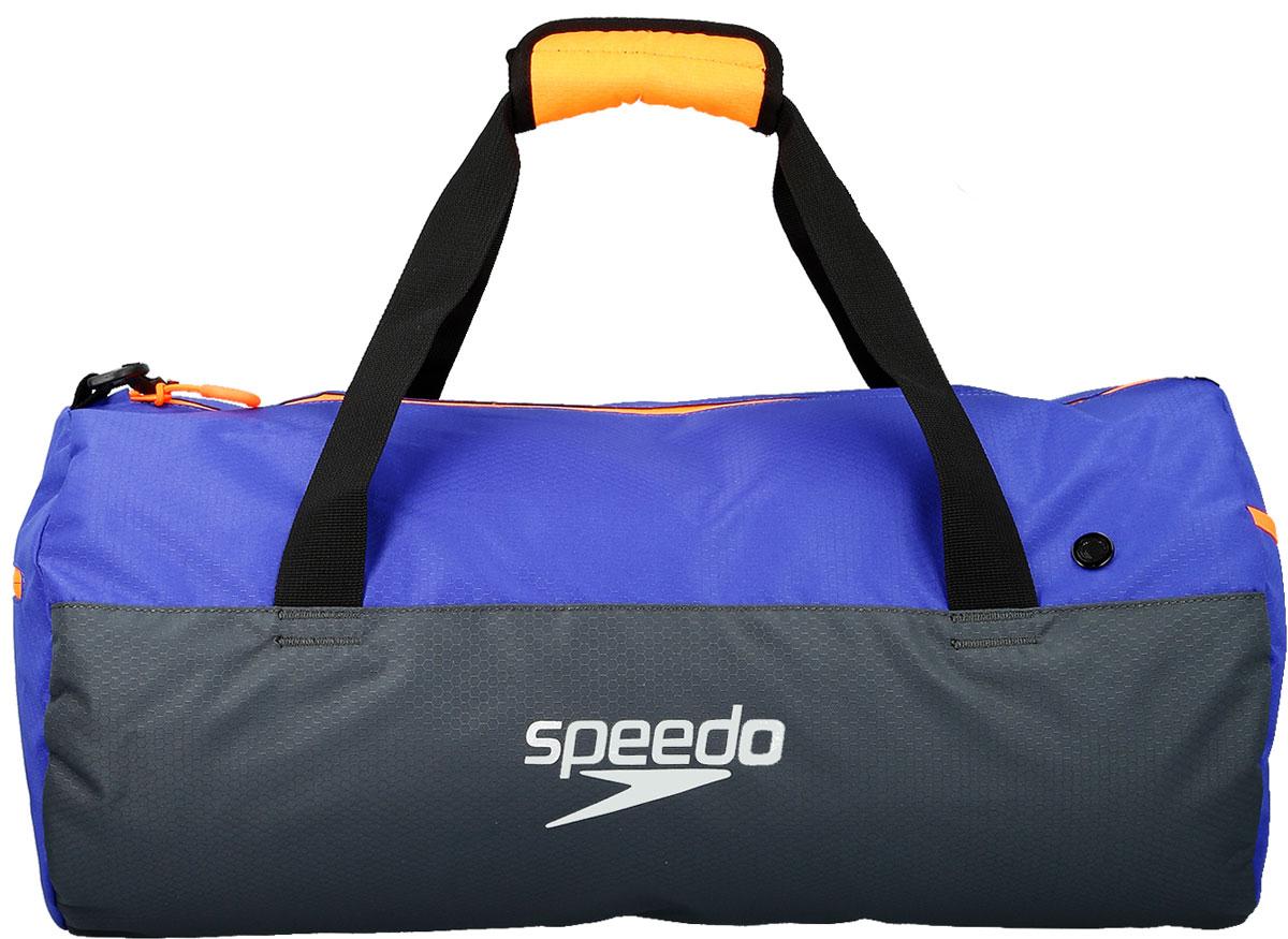 Мешок для мокрых вещей Speedo, цвет: серый, фиолетовый. 8-09190C2998-09190C299Практичная и вместительная сумка-мешок идеально подходит для хранения вещей во время посещения бассейна. Использование сетки в качестве материала обеспечивает прекрасную вентиляцию и позволяет вещам быстро сохнуть.