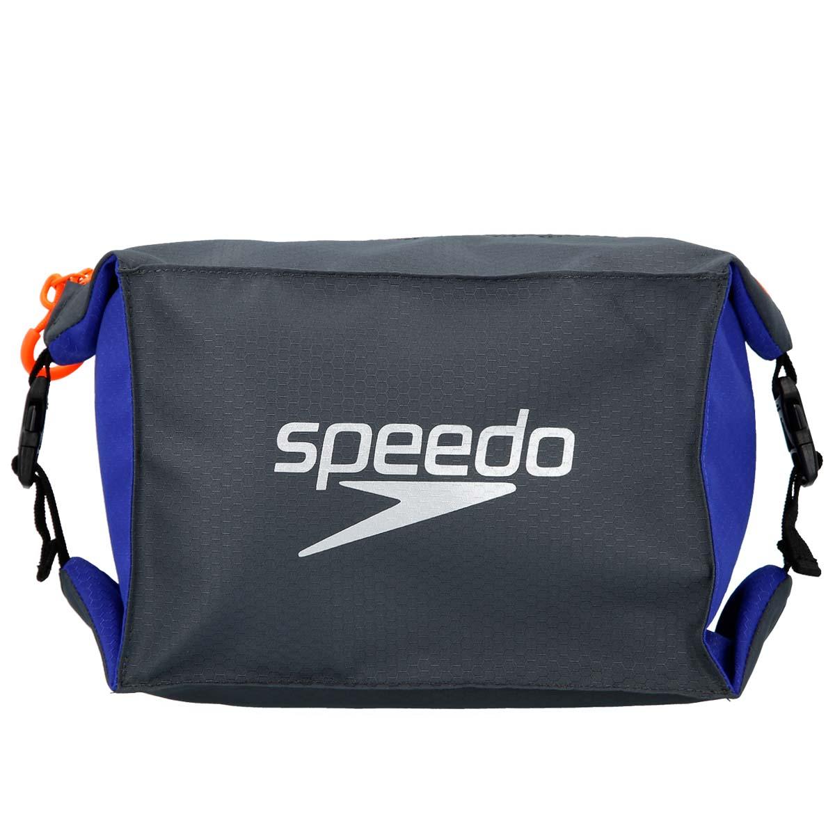 Мешок для мокрых вещей Speedo, цвет: серый, фиолетовый8-09191C299Практичная и вместительная сумка-мешок идеально подходит для хранения вещей во время посещения бассейна. Использование сетки в качестве материала обеспечивает прекрасную вентиляцию и позволяет вещам быстро сохнуть.