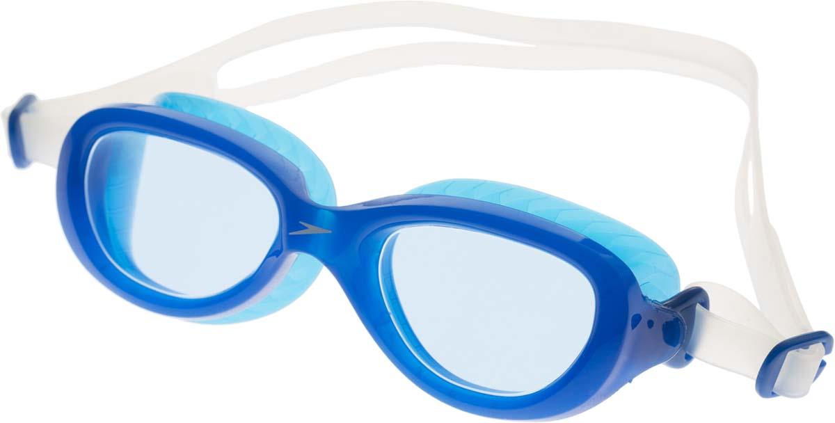 """Очки для плавания детские """"Speedo"""", цвет: синий, прозрачный"""