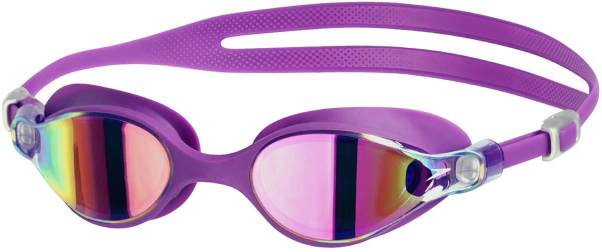 Очки для плавания Speedo, цвет: розовый8-10962B579Новые очки класса люкс с технологией IQFIT созданы с использованием лучшихматериалов и высокоточных расчетов. Благодаря использованию новойтехнологии защиты от запотевания AntiFog четкий обхор сохраняется в 2 разадольше. Линзы с зеркальным покрытием снижают яркость бликов в воде.Усовершенствованный ремешок для простой и надежной подгонки сдинамичным боковым зажимом.