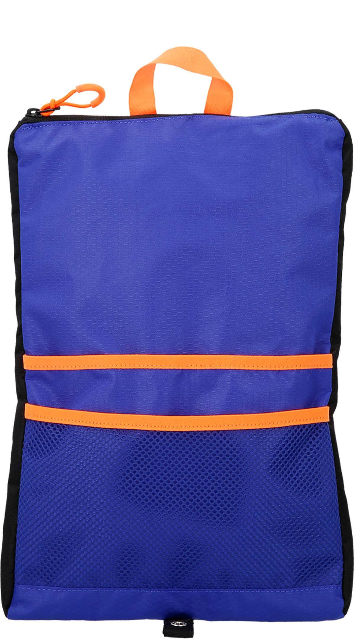 Мешок для мокрых вещей Speedo, цвет: серый, фиолетовый, оранжевый8-11470C299Легкая и водонепроницаемая небольшая сумка подходит как для хранения банных принадлежностей, так и для всего необходимого при посещении бассейна.