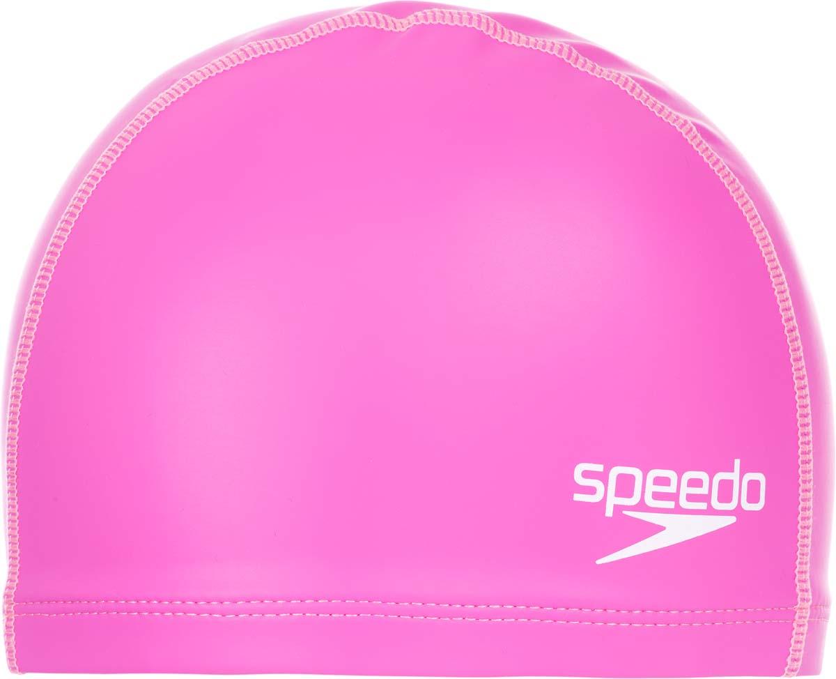 Шапочка для плавания Speedo, цвет: розовый