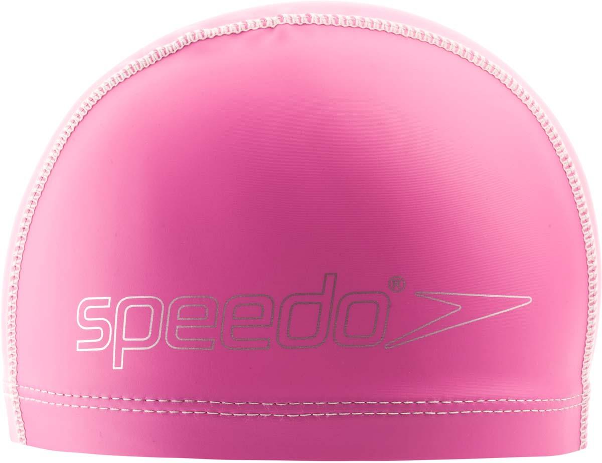Шапочка для плавания детская Speedo, цвет: розовый