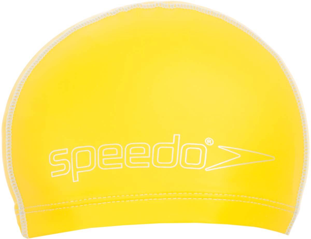 Шапочка для плавания детская Speedo, цвет: желтый