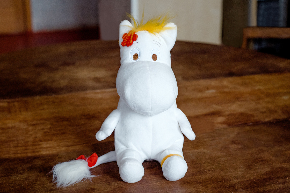 Moomin Мягкая игрушка Фрекен Снорк 27 см new compatible developer dv610 for konica minolta bizhub bizhub pro c5500 c5501 c6500 c6501 1100g 4pcs set