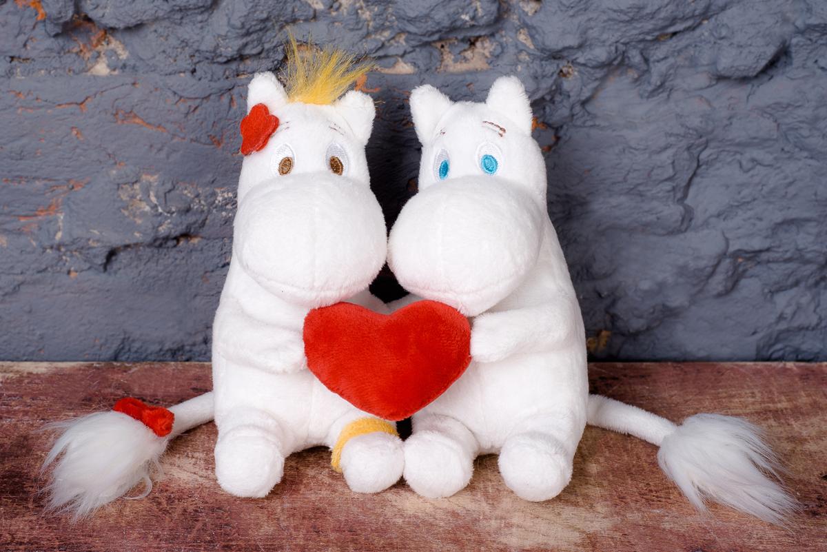 Moomin Мягкая игрушка Муми-тролль и Фрекен Снорк 14 см ложка moomin летний театр муми папа