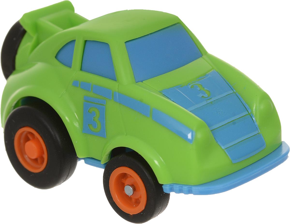 Maisto Машинка Slickers цвет салатовый голубой оранжевый 15023 maisto модель автомобиля chevrolet bel air 1957 цвет оранжевый